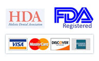 HDA and FDA approved - We accept Visa, MasterCard, Discover and American Express
